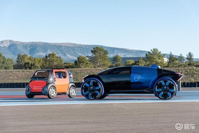 法国试驾雪铁龙两款概念车,一个像赛车,一个像飞船