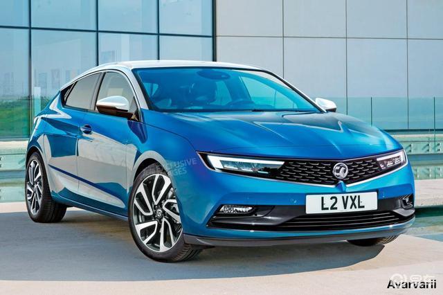 加入PSA后首款新车,全新沃克斯豪尔Astra渲染图曝光