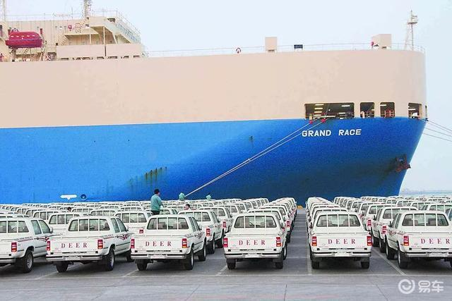 2019年中国汽车出口百万辆,实力最强当数这三家!