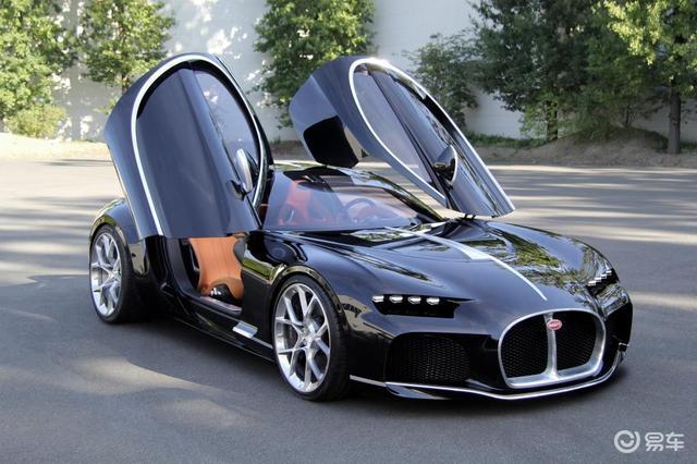 搭载V8发动机,布加迪Atlantic概念车曝光