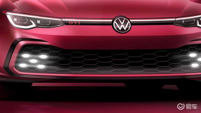 就快来了 全新高尔夫GTI预告图公布 日内瓦车展亮相