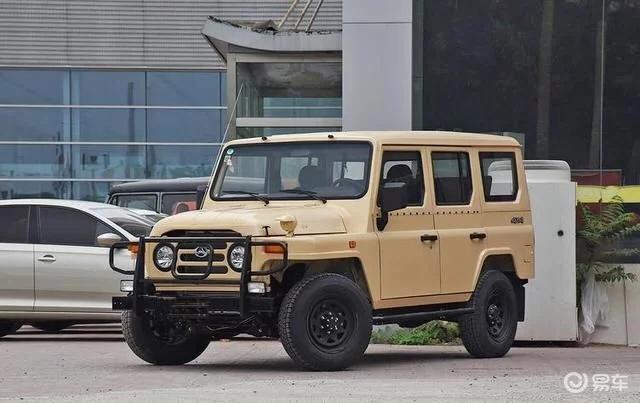 轴距加长160mm  新款BJ 212上市售8.78万起