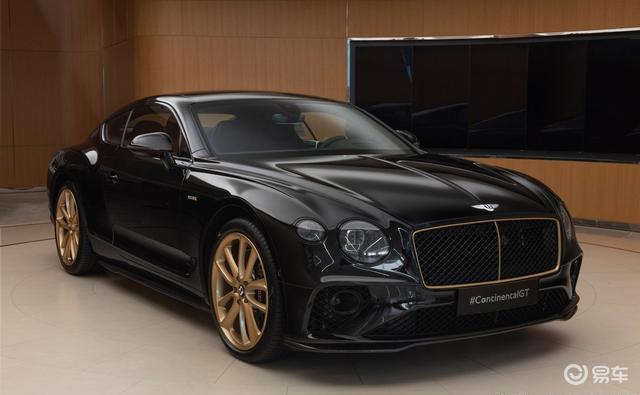 黑加金色!欧陆GT Aurum特别版实车亮相,限量10台