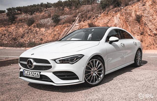 奔驰全新CLA将国产上市,搭1.3T动力配无框车门