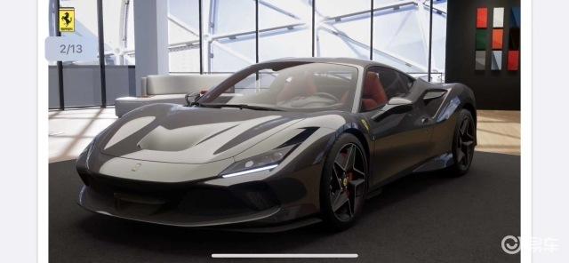 法拉利F8一代经典多少人的梦想现车实拍国内第一批配额