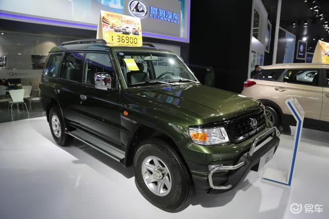 实拍猎豹汽车-猎豹Q6硬派SUV,汽车中的硬汉!