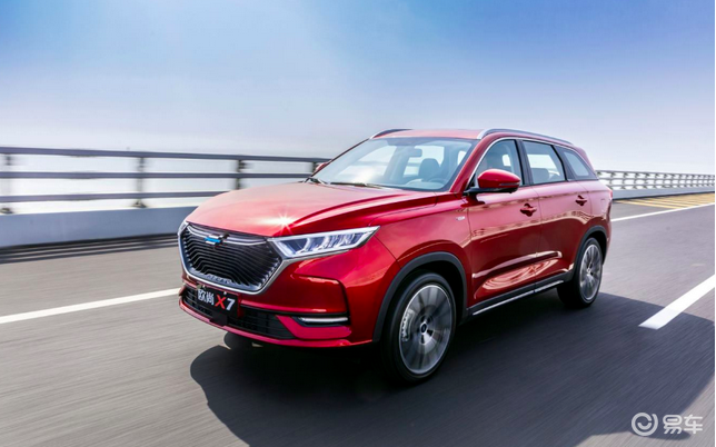 长安欧尚X7新增三款新车,10.99万起售