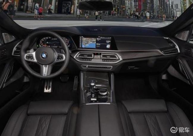 纯黑色全新宝马X6 法兰克福车展亮相