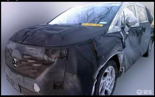 看个新车丨进军商务MPV市场,北京现代全新车型谍照曝光