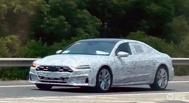 上汽奥迪首款量产车曝光,奥迪A7,不,是奥迪A7L!