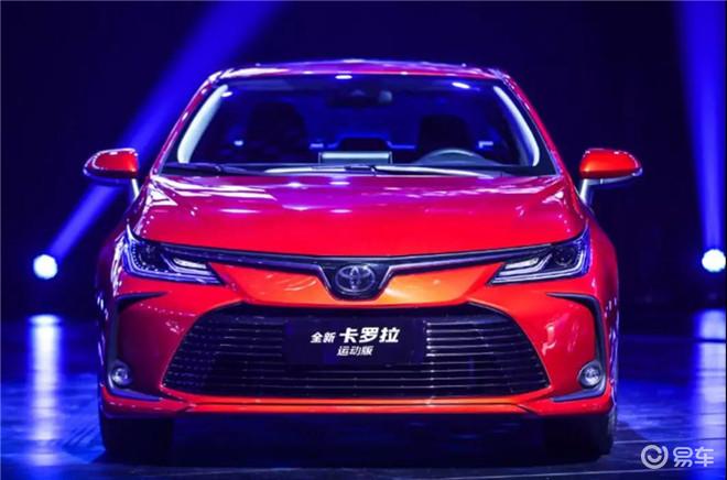 一汽丰田:卡罗拉销量接近3万,亚洲龙的光芒已掩盖皇冠