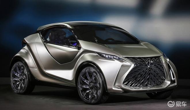 外观科幻 雷克萨斯首款纯电动概念车将亮相东京车展