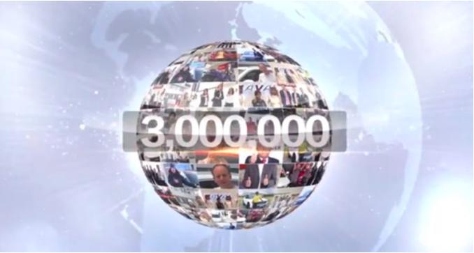 哈弗H6全球销量破300万