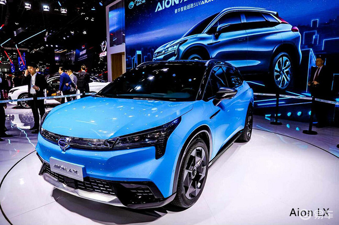 广汽斥资6.5亿 造Aion新SUV 竞争比亚迪元EV