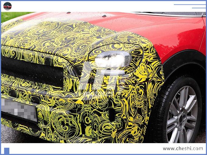 MINI新款SUV谍照曝光 三种动力可选/明年首发