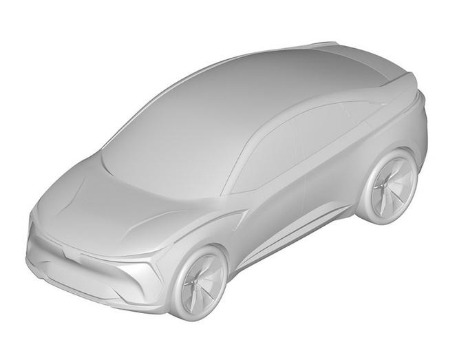 哪吒首款轿车专利图曝光!明年上市 预计12万起