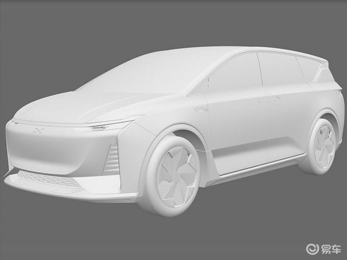 爱驰7座SUV专利图曝光 对开门设计 竞争蔚来ES8