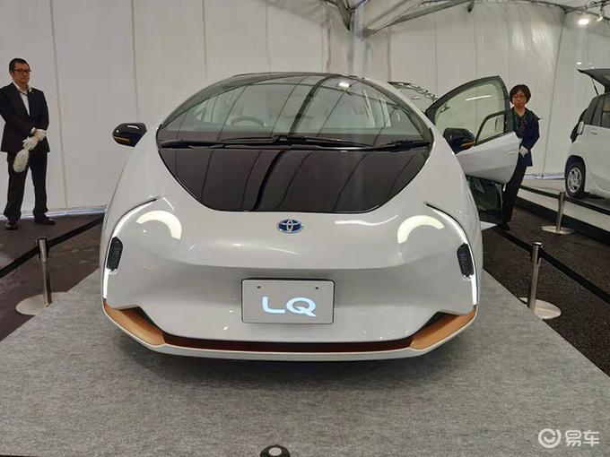 丰田全新纯电动概念车实拍 造型超科幻即将发布