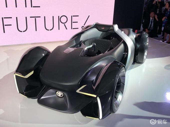 丰田e-Racer概念车正式亮相 这方向盘你会用吗