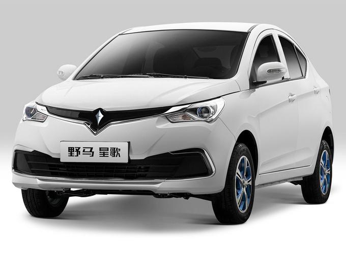 """野马首款纯电动轿车定名""""星歌"""" 竞争比亚迪e1"""