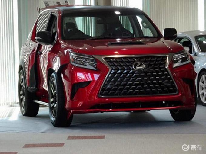 雷克萨斯全新GX F实拍 普拉多兄弟车/搭5.0L引擎