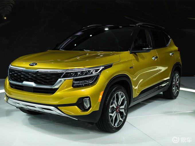 起亚新款Seltos实拍 提供多动力车型/外观调整