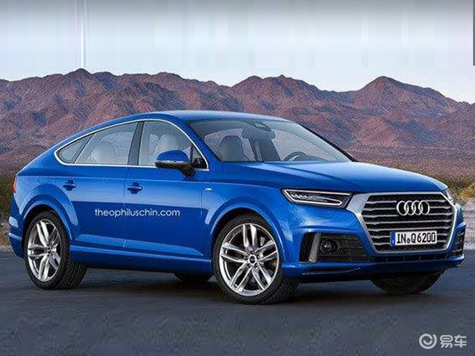 奥迪国产Q5L轿跑SUV下线 明年开卖/竞争宝马X4
