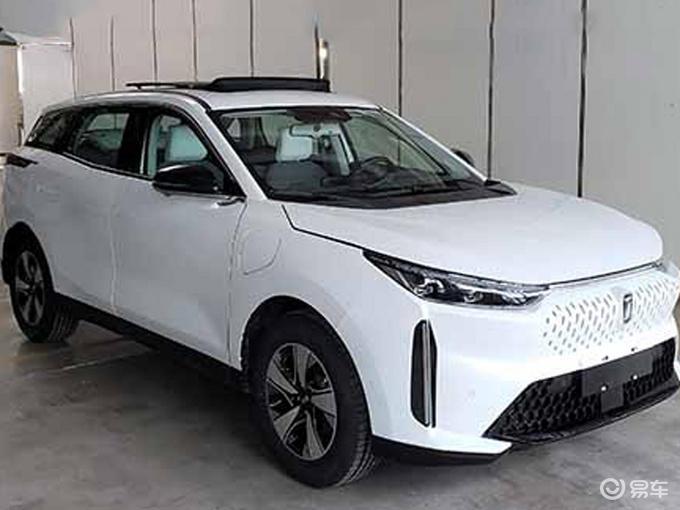 奔腾新纯电SUV 二季度上市 续航450km尺寸同级最大