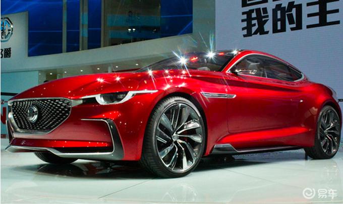 名爵今年推3款新车 改款MG6领衔 还有一款双门轿跑