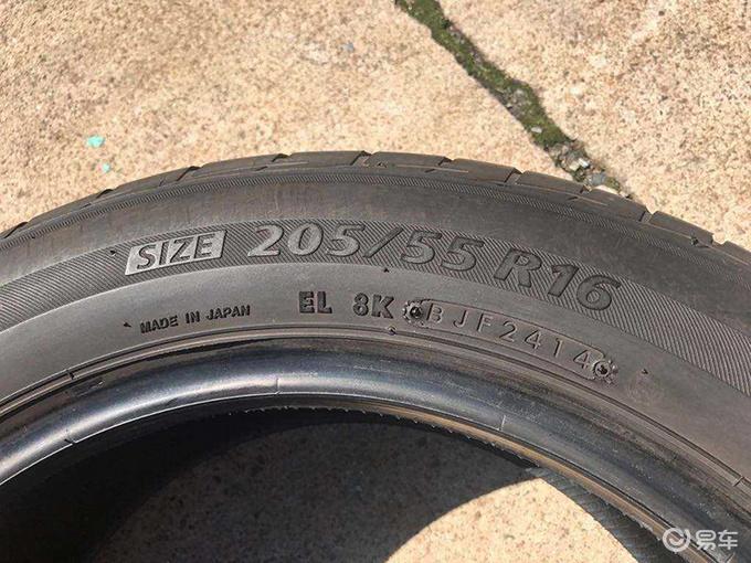 买轮胎怕是库存胎?轮胎上的数字都是什么意思