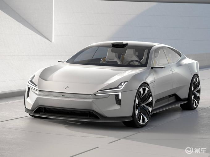 极星电动概念跑车公布 专注于减重与高科技技术
