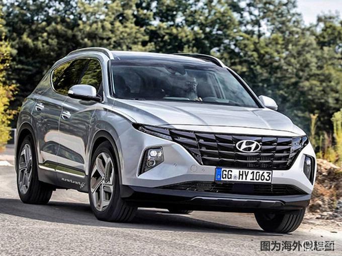 北京现代途胜SUV将换代 前脸造型大改/增混动版