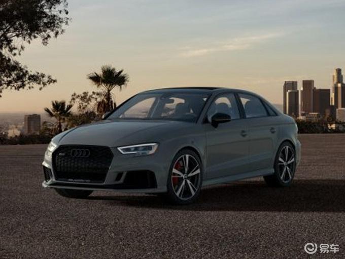 奥迪RS 3新车型曝光!新增多项实用配置,车身涂装更吸睛