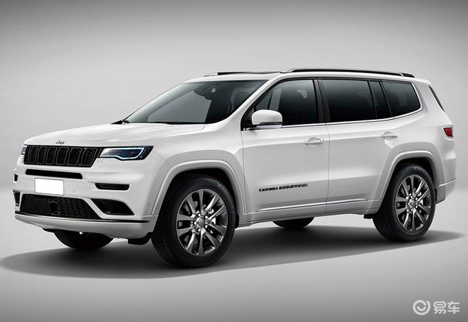 Jeep全新大切诺基曝光!尺寸超大众途昂/年内发布