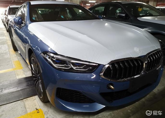 9月4日上市 全新宝马8系Gran Coupe到店实拍