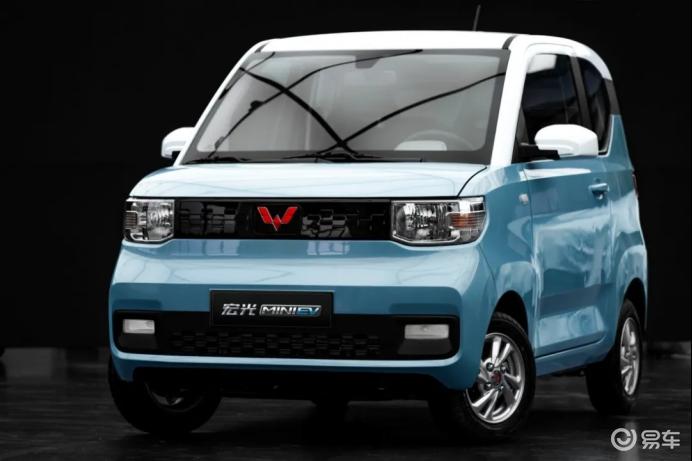 不到3万就能买的代步神车宏光MINI EV预售2.98万