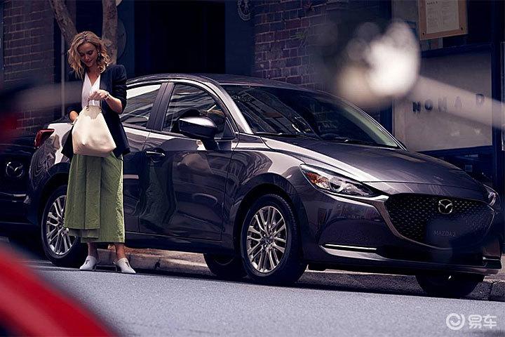 小却不失精致,Mazda2轿车版发表,但只供墨西哥?