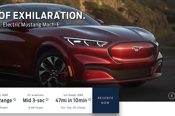 还没正式发表,福特野马电动SUV的一切全被公开了