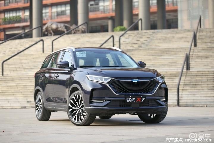 捷达VS7对比长安欧尚X7,谁是10万级最佳家用SUV?