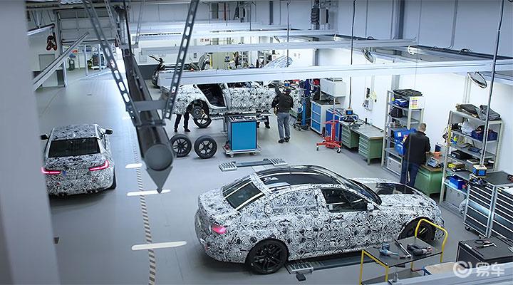 #新车资讯# BMW新一代M3德国现身