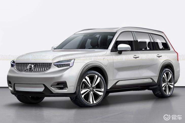 沃尔沃新车规划 将推两款新产品/全尺寸SUV对标宝马X7