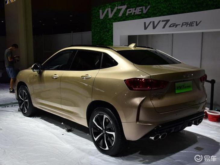 WEY VV7 GT PHEV将广州车展上市
