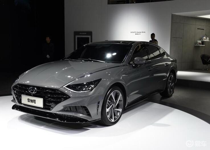 韩系中型车发力,新索纳塔造型更犀利,2.0T车型值得期待