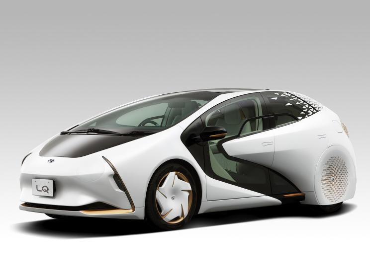 丰田LQ概念车官图发布 具备L4级自动驾驶