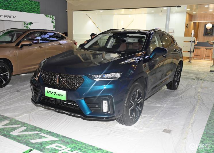 全新 VV7 PHEV车型将于11月份上市