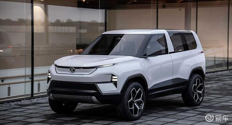 塔塔发布全新电动概念车 定位中大型SUV