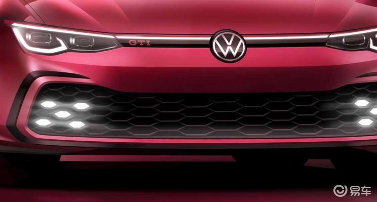 2.0T,242马力,8代高尔夫GTI将亮相日内瓦车展