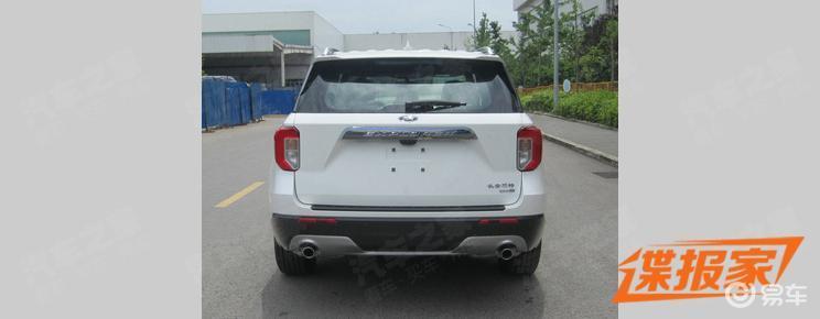 福特最新大型SUV谍照曝光,蓝鸟同款A柱上身颜值怎么说?