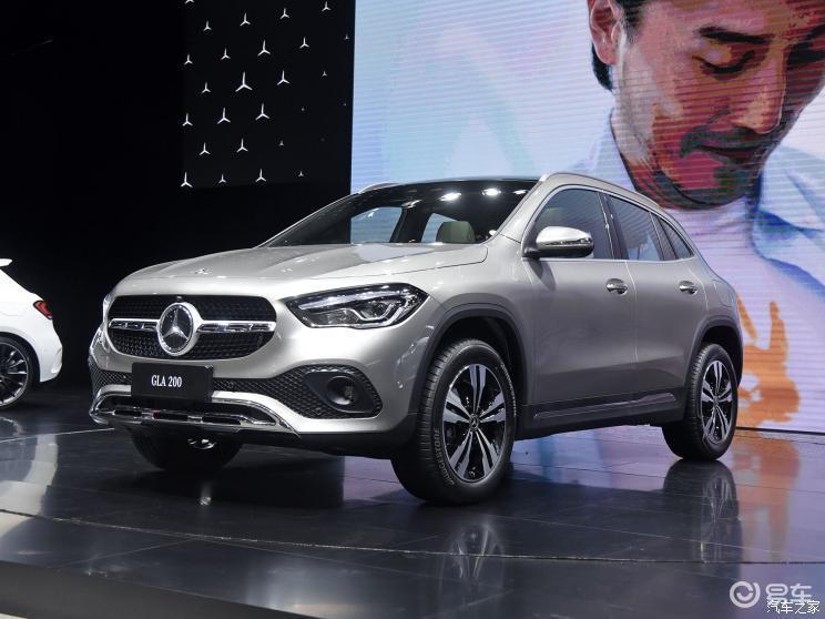 国产GLA量产车下线新车预计年内上市