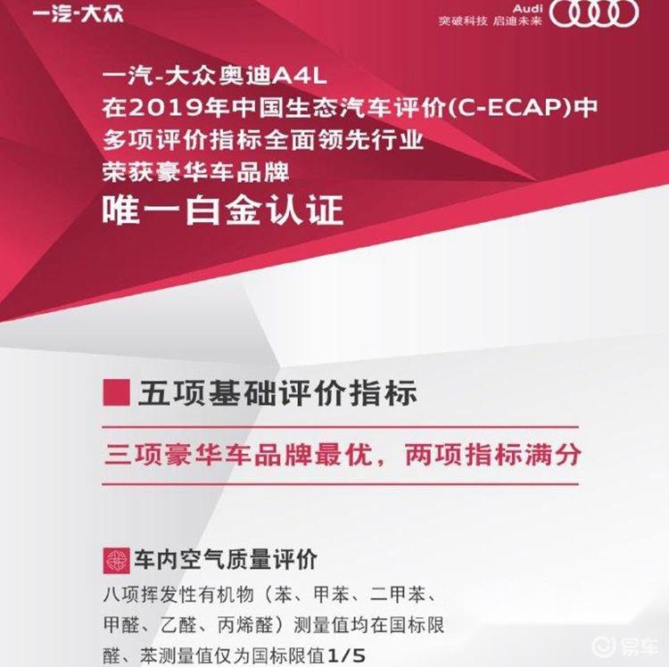 C-ECAP测试车内空气质量奥迪得分最高 车主:奥迪不配